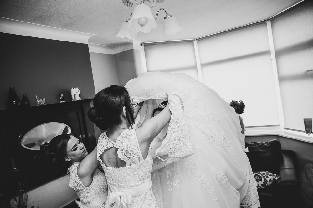 Turnpike Inn Wedding Photography