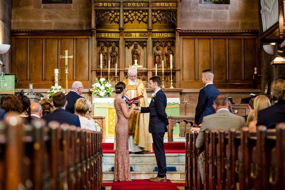 Traditional Church weddings…