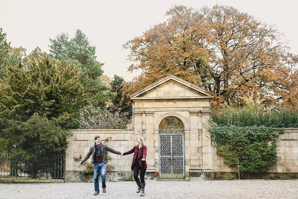 Tatton Park Engagement Photography