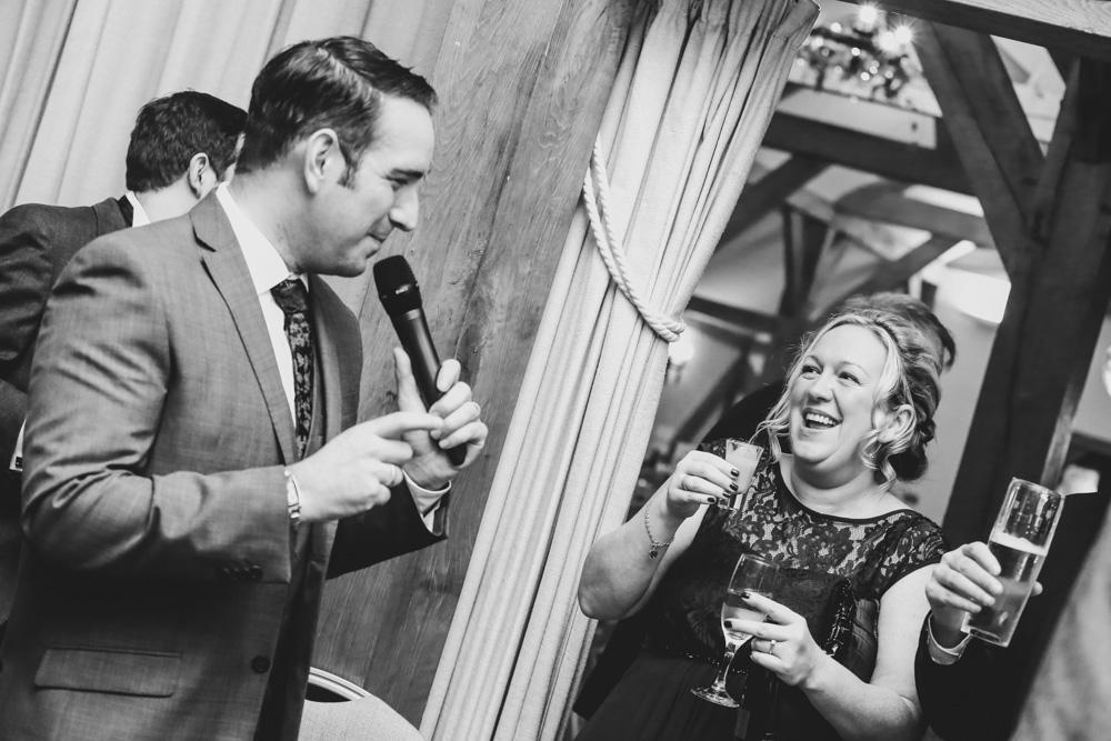 Sandhole Oak Barn Wedding Photographer