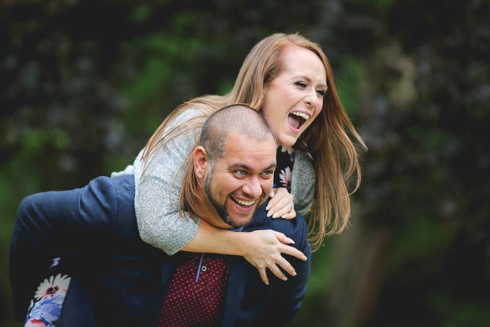 Fletcher Moss Didsbury Engagement Photoshoot