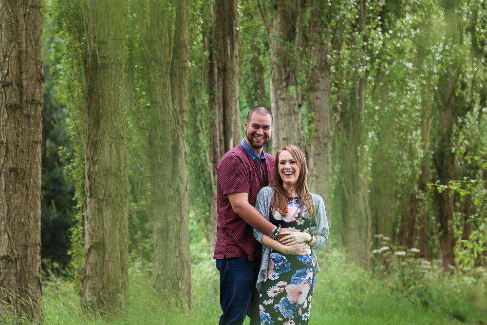 Fletcher Moss Didsbury Engagement Photoshoot