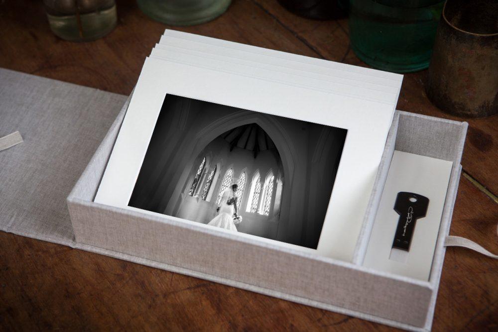 Wedding USB Print box at ER Photography