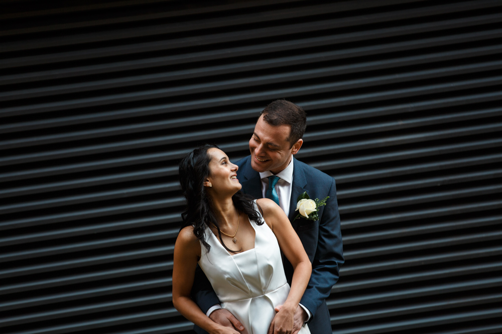Intimate Great John Street Hotel Wedding