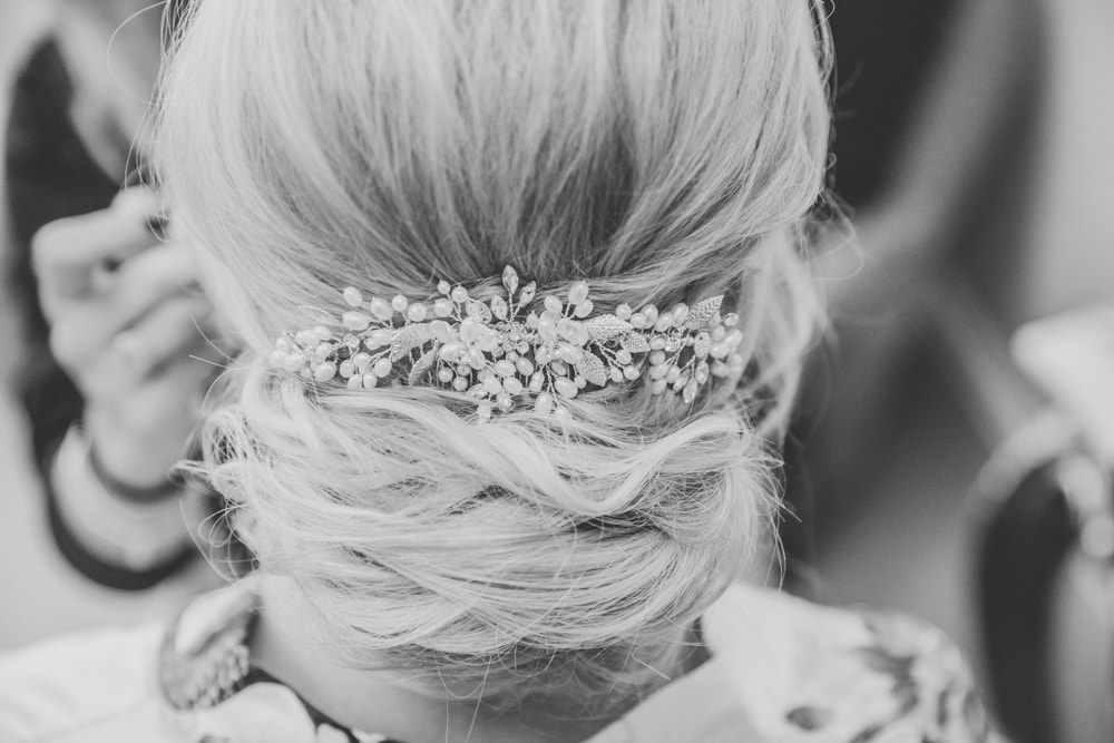 Bridal Hair by Vicky at Colshaw Hall