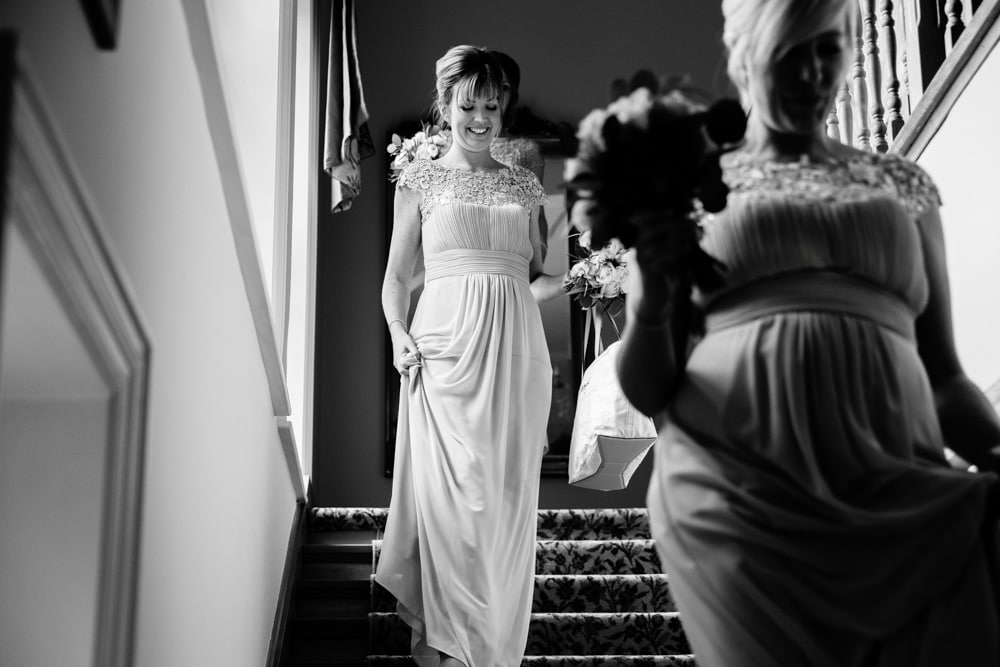 Bridal Prep at Colshaw Hall