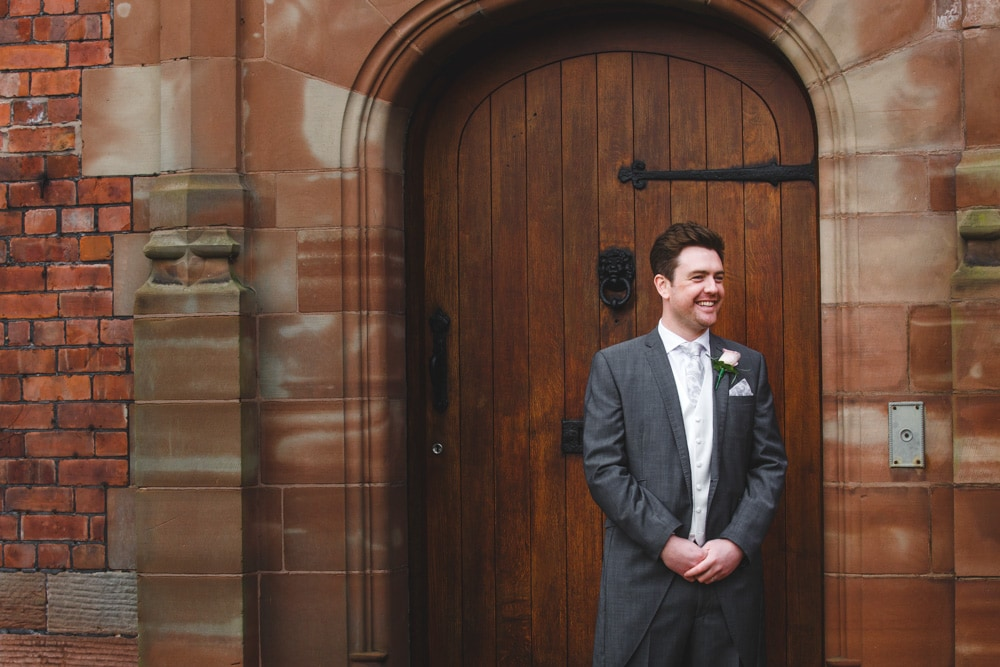 Bride & Groom Colshaw Hall Wedding