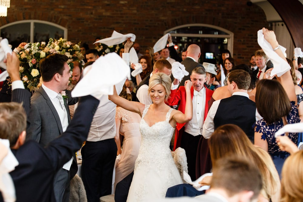 Speeches at a Wedding Colshaw Hall