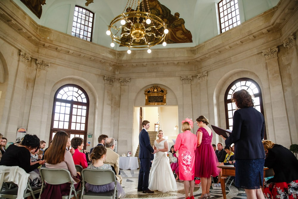 Wedding Ceremony at Ashton Memorial