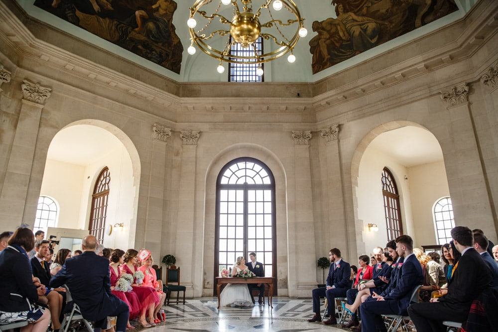 The round room at Ashton Memorial suitable for weddings