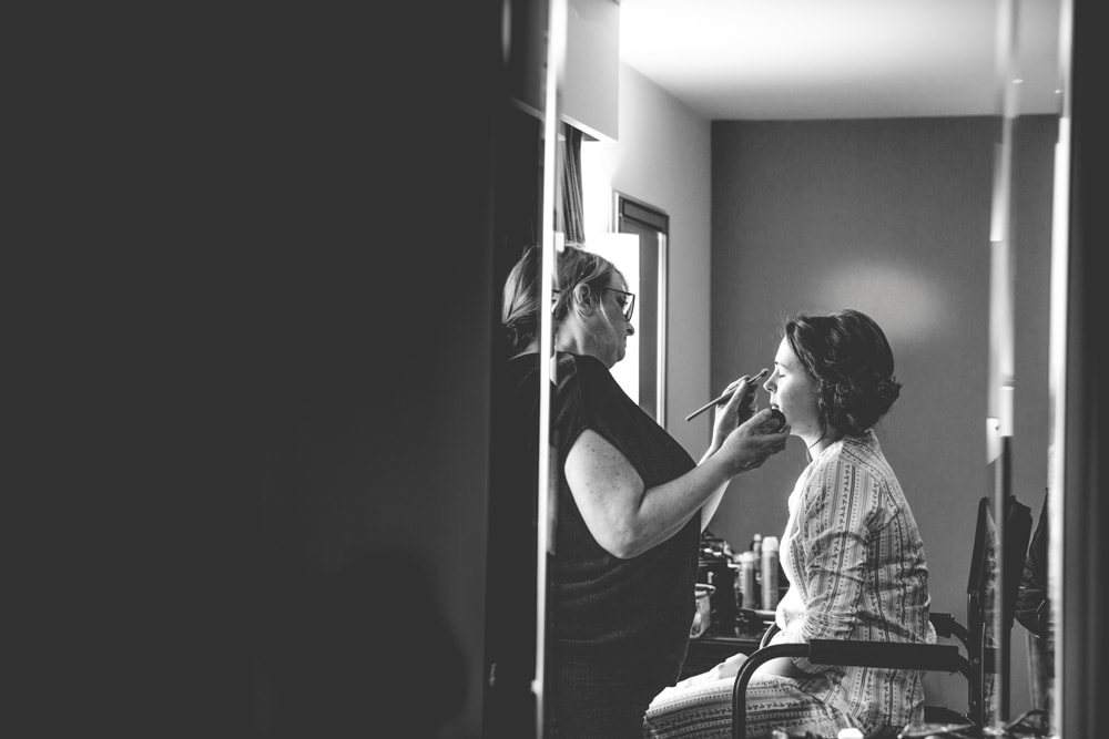 Garstang Hotel Wedding Preparation
