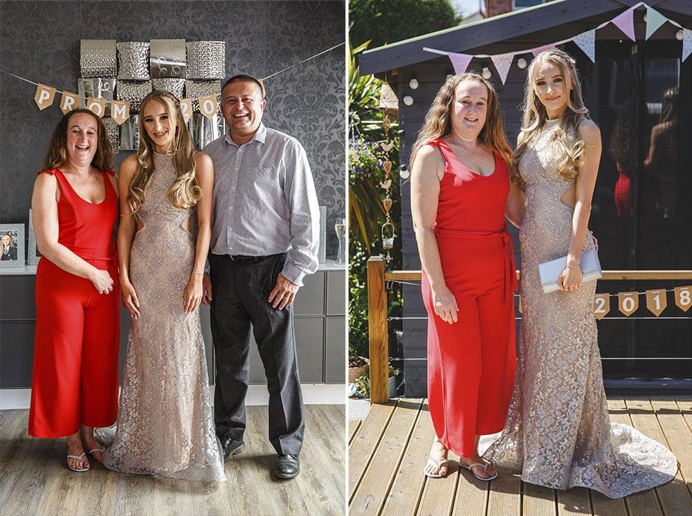 Family Prom Photographer