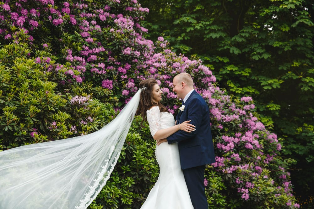 Bride + Groom at Oddfellows On The Park
