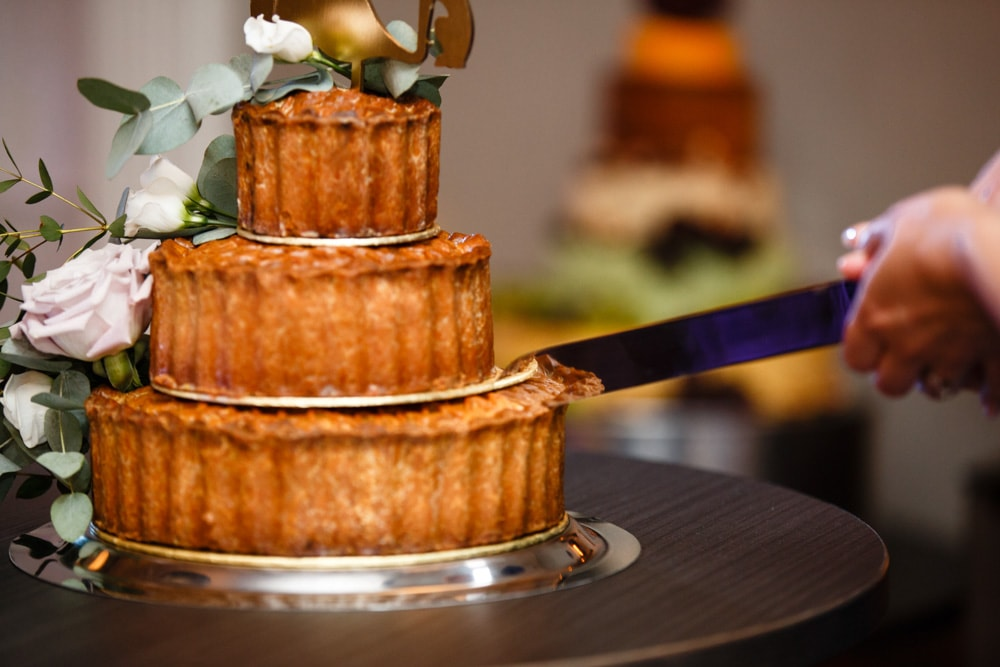 Porkpie Wedding Cake