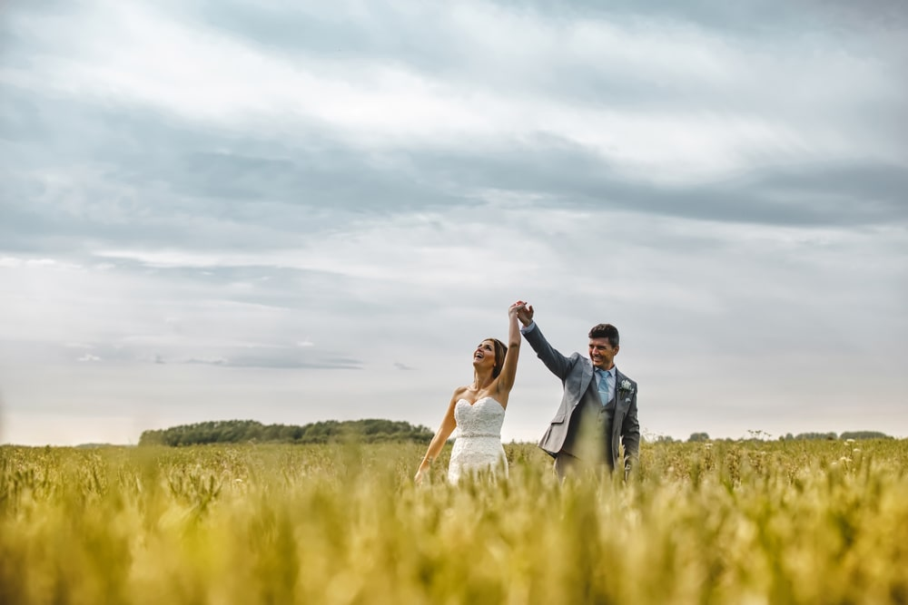 Wedding Photographer Cornfield Sunset