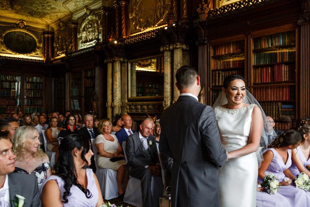 Crewe Hall Wedding Ceremony