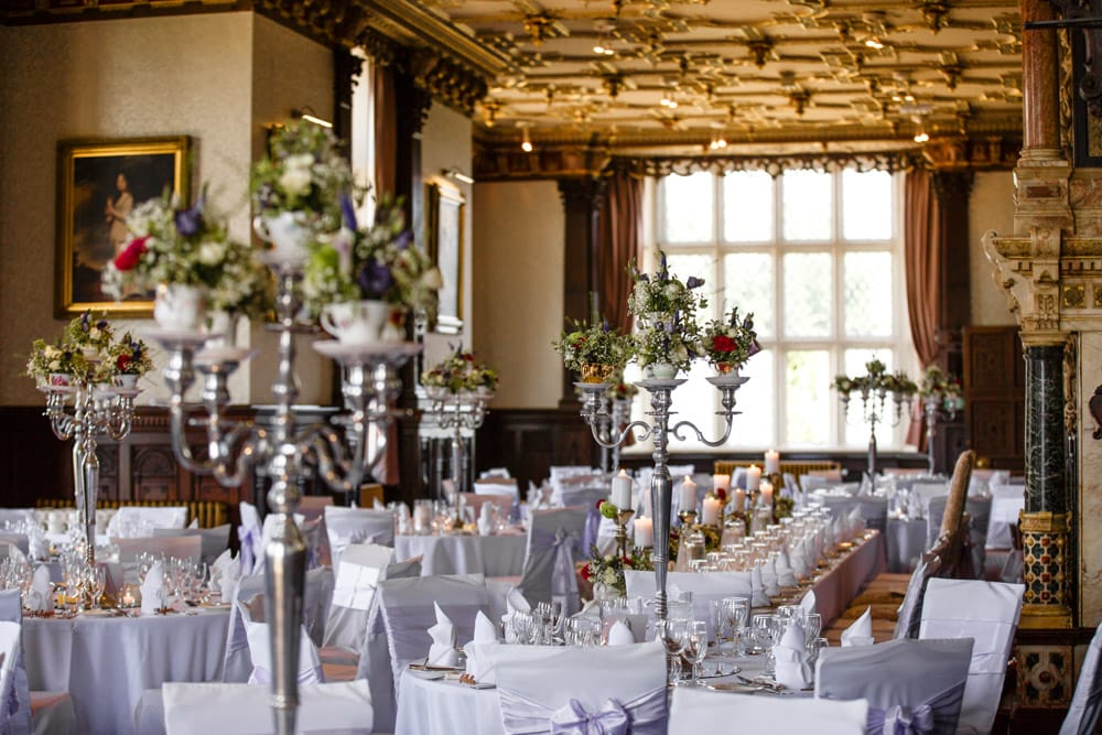 Eventures Room Dressing at Crewe Hall