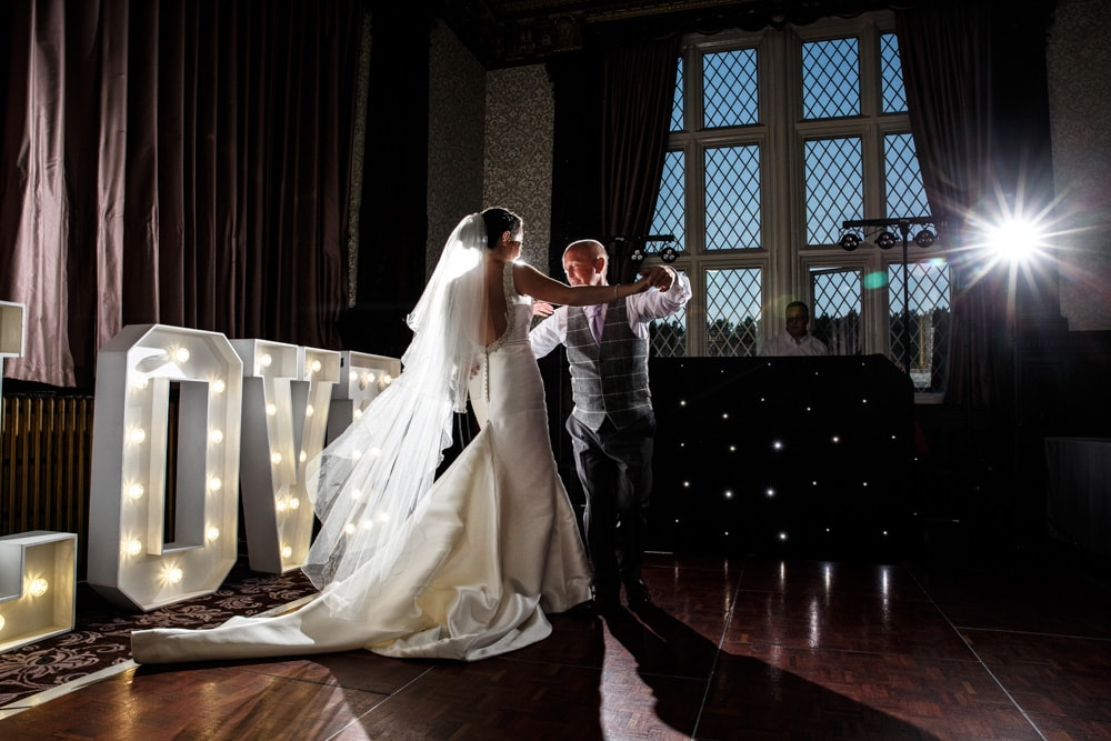 Father Daughter Dance at Crewe Hall