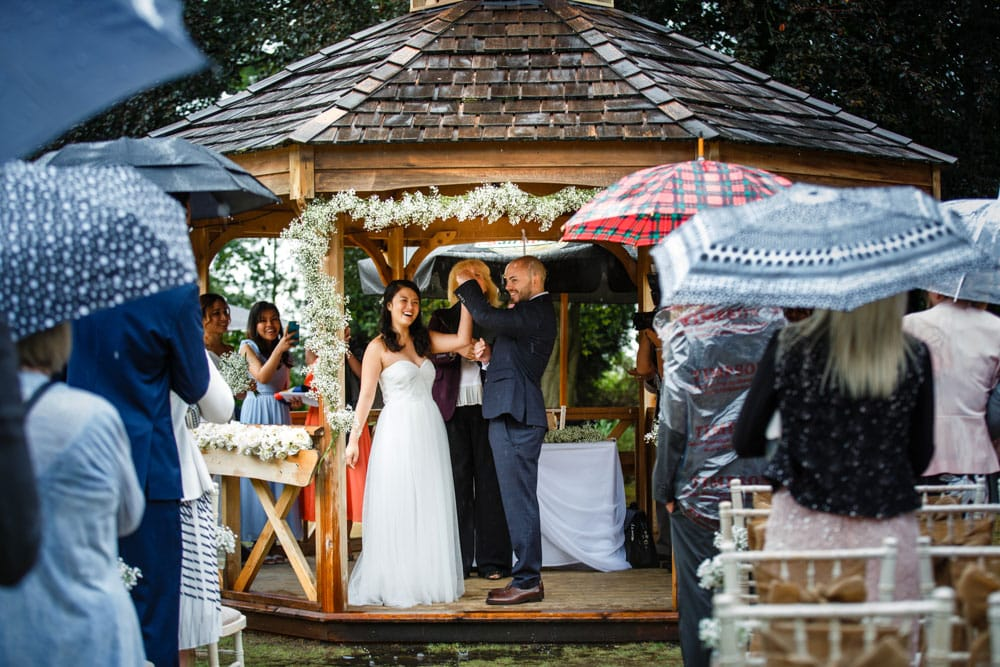 Outdoor Ceremony at Mere Court