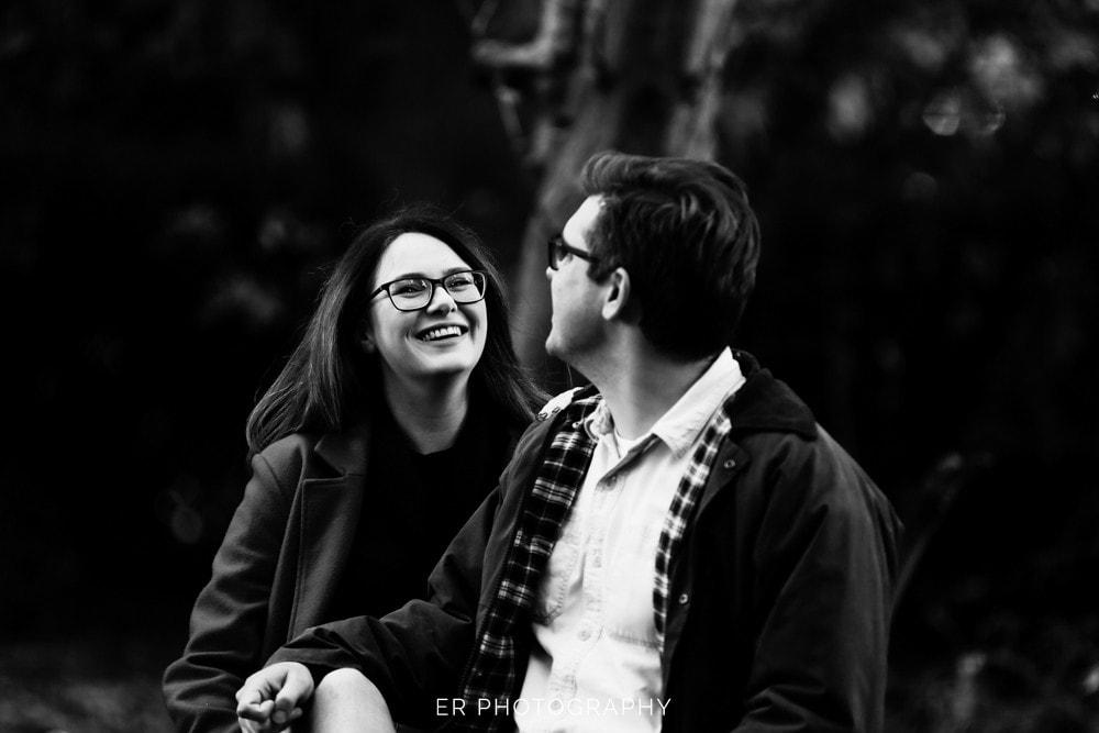 Romance smiles