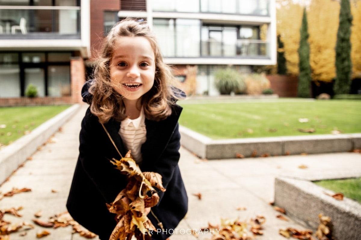 Fun family photographer manchester