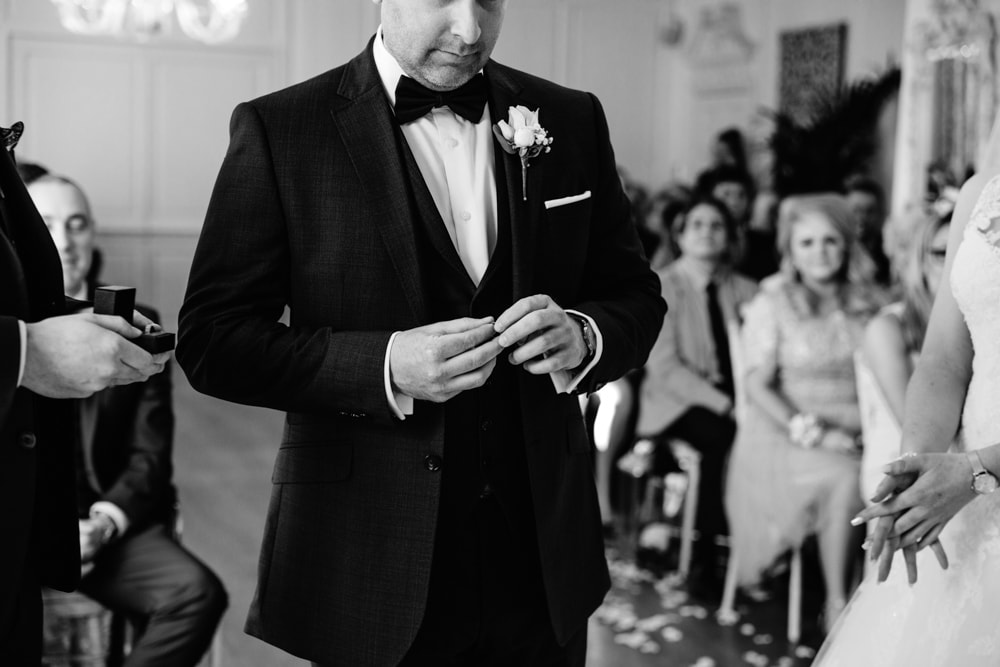 Groom at Eaves Hall