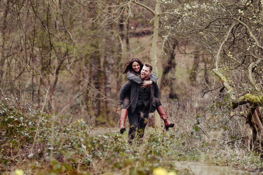 Heaton Park Engagement Photographer