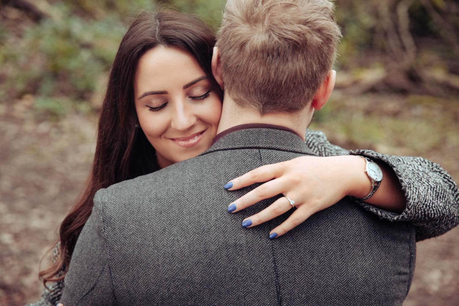 Heaton Park Engagement Photoshoot