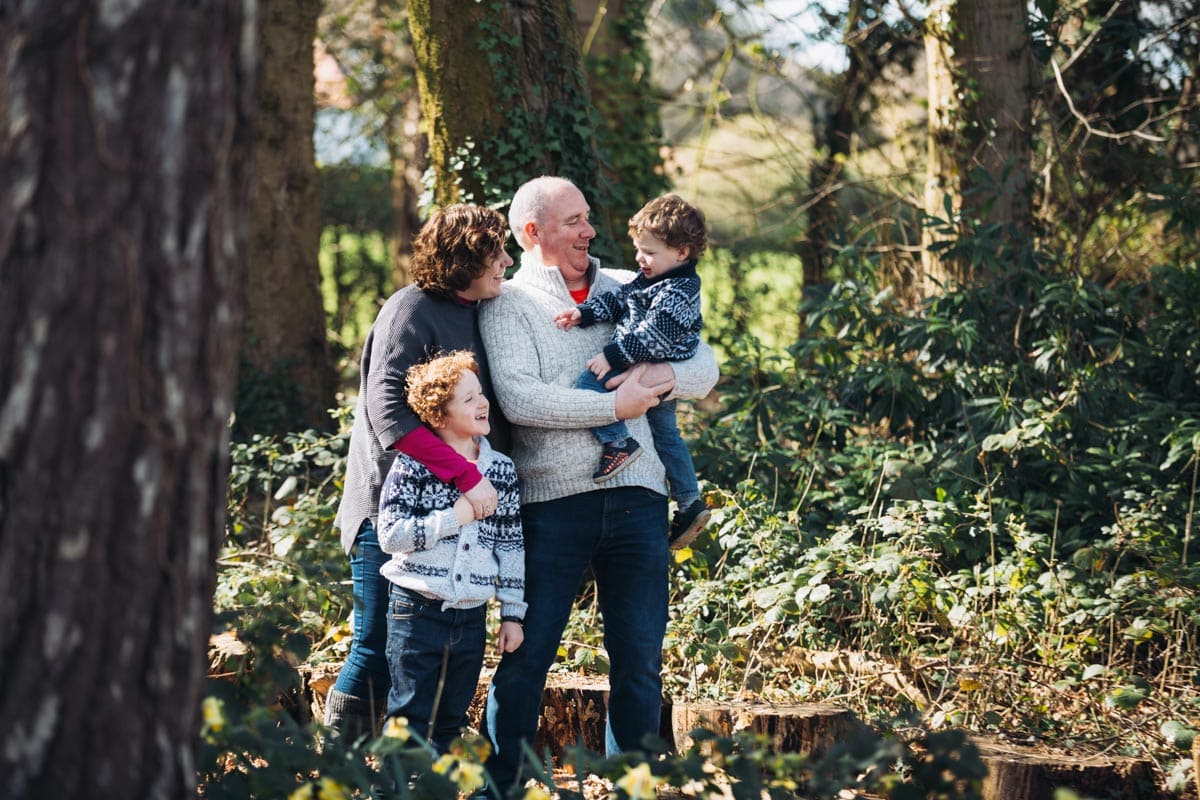 Family Shoot at Inglewood Manor