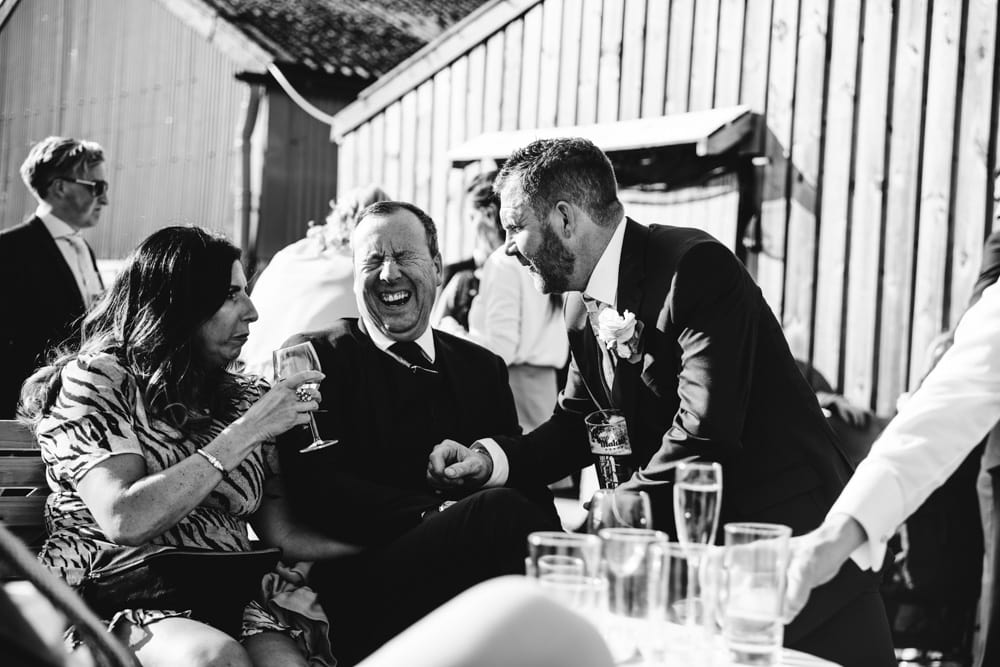 Wedding at Dove Barn in Knutsford outside games on the lawn