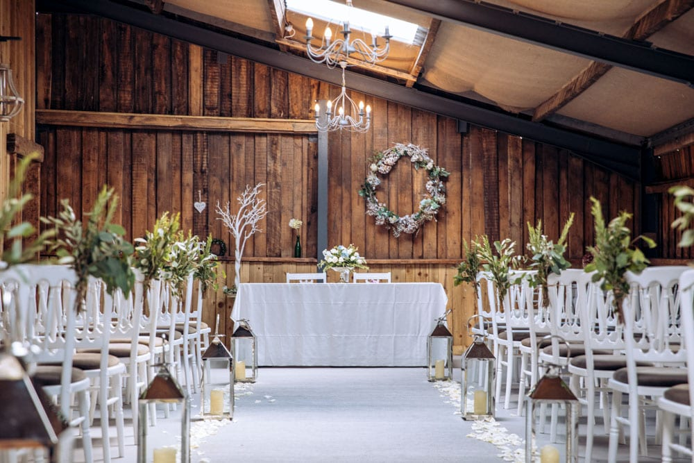 Ceremony Room Dove Barn Knutsford