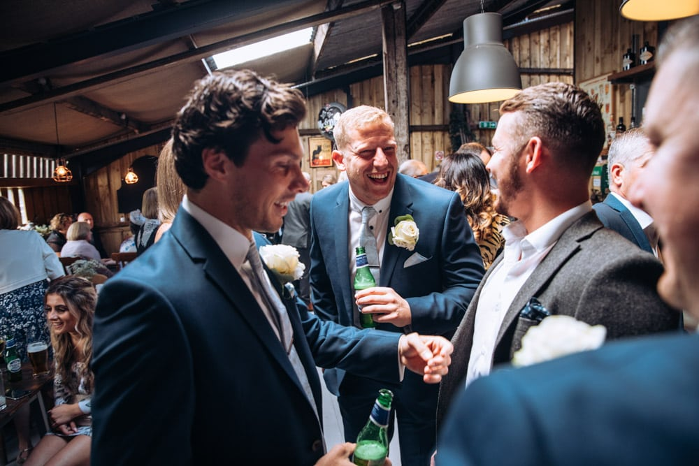 barn wedding in knutsford