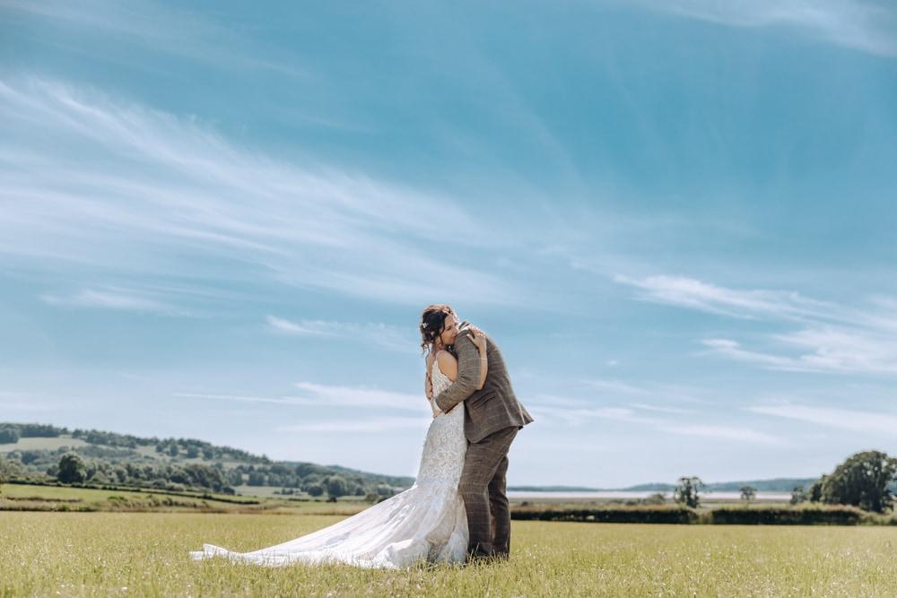 Lake District Wedding near a beach