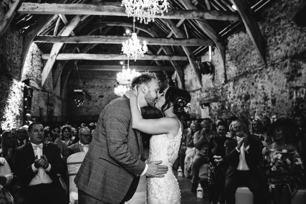 Park House Barn wedding ceremony