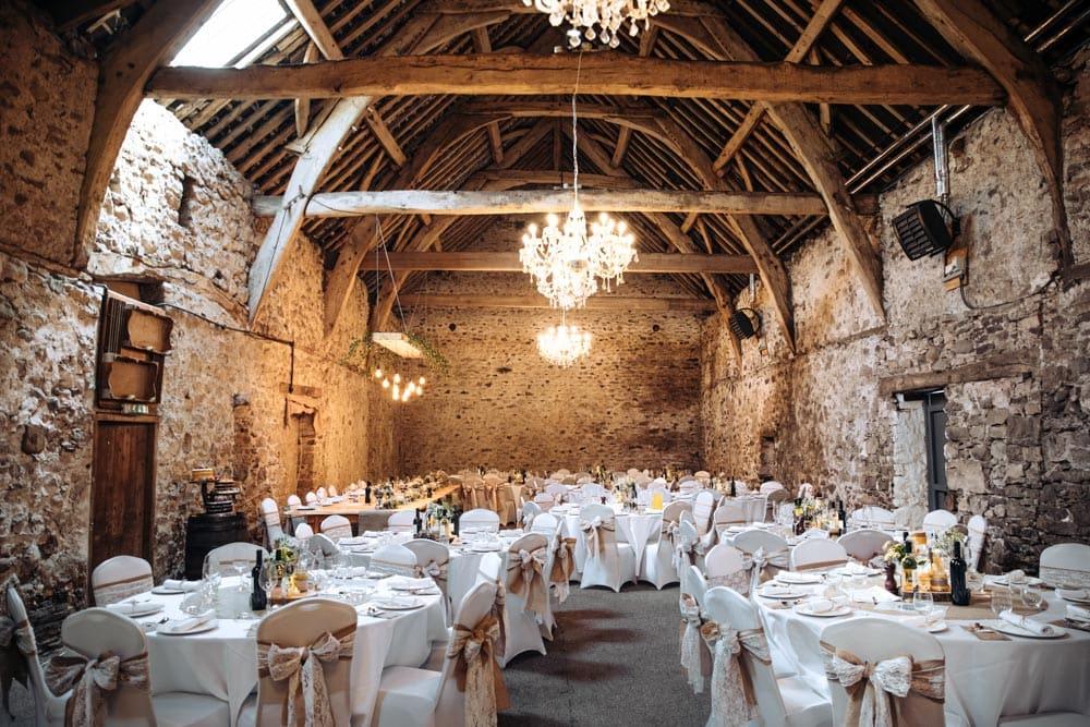 Park House Barn Wedding Room