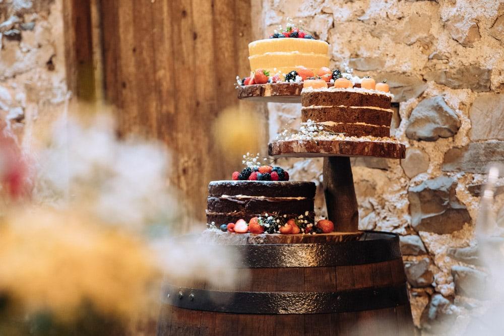 Wedding Cake at Park House Barn