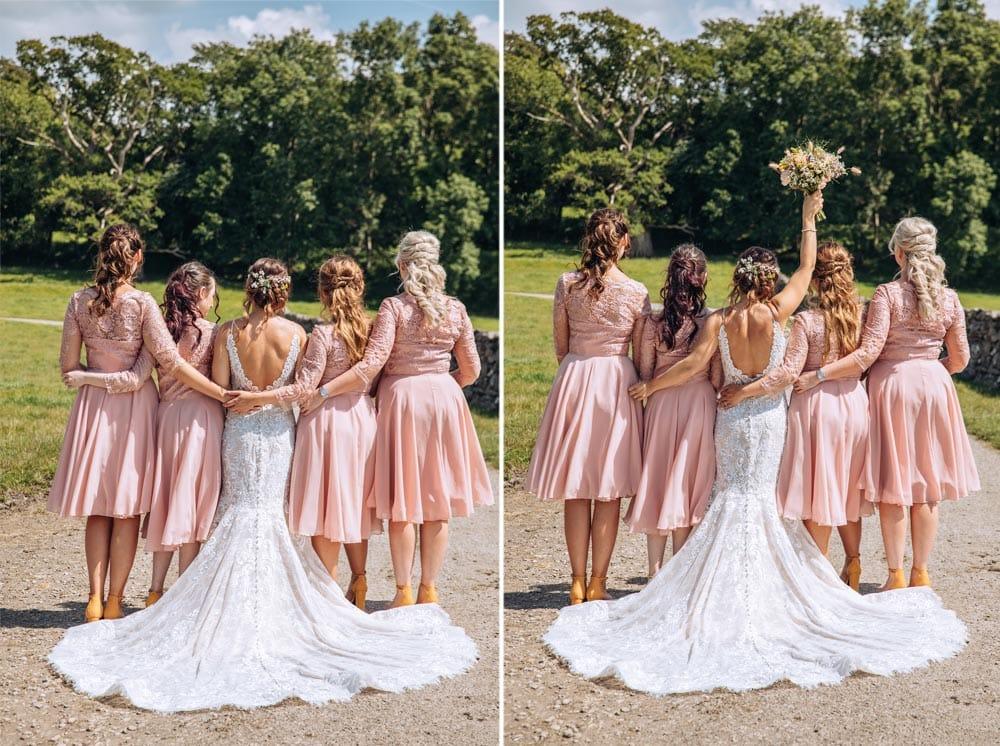 Bridesmaids at Park House Barn