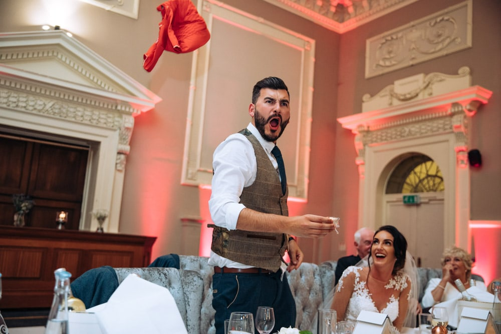 The grooms speech at Knutsford Court House