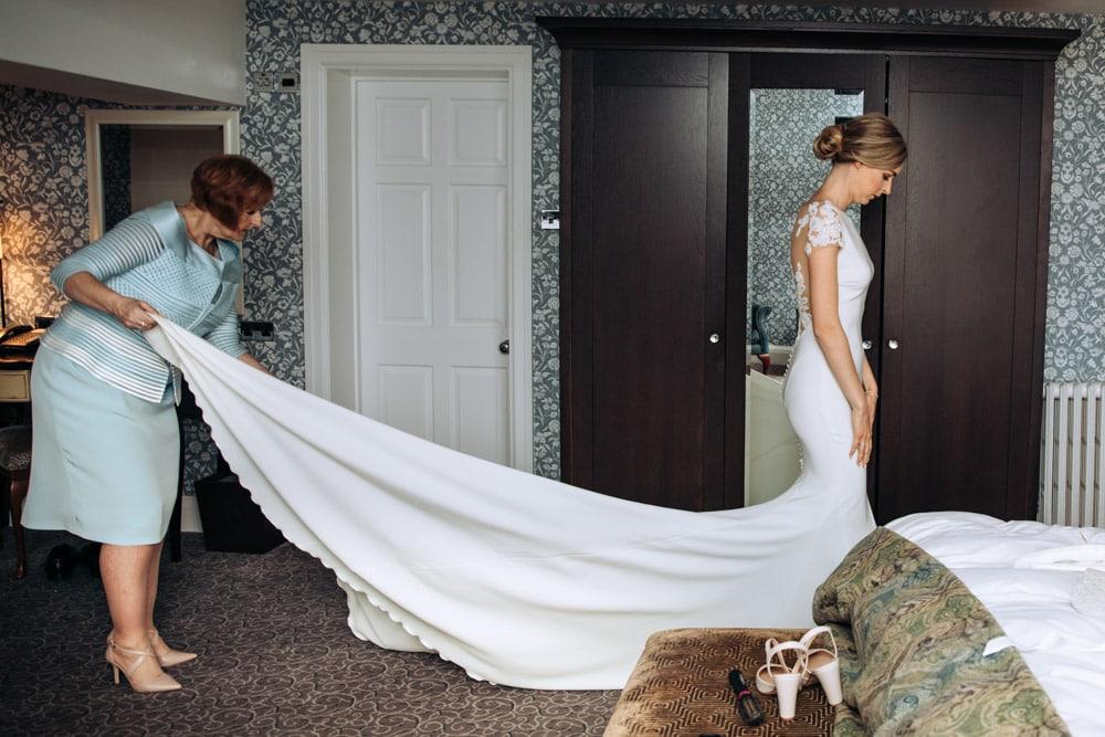 groom preparations at mottram hall