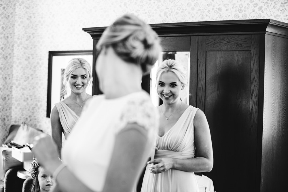 bridal preparations at mottram hall in cheshire