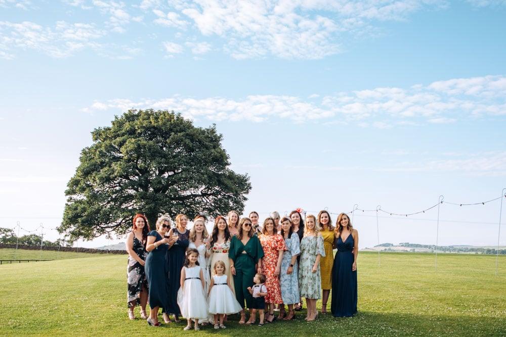 wedding photography at heaton house farm