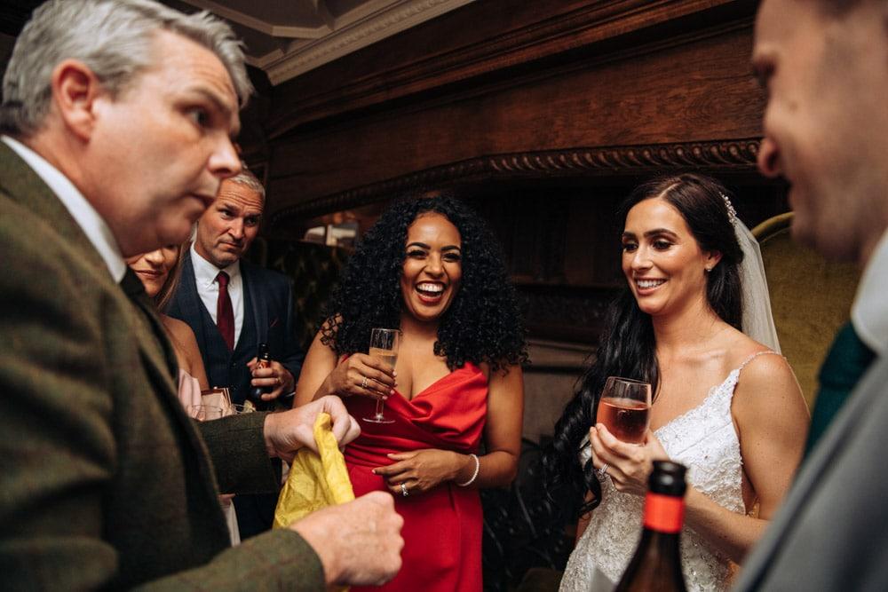 Hillbark Hotel Wedding Photographs