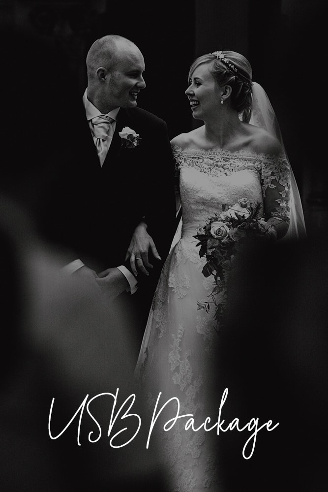 USB Wedding Photography Package Prices Manchester