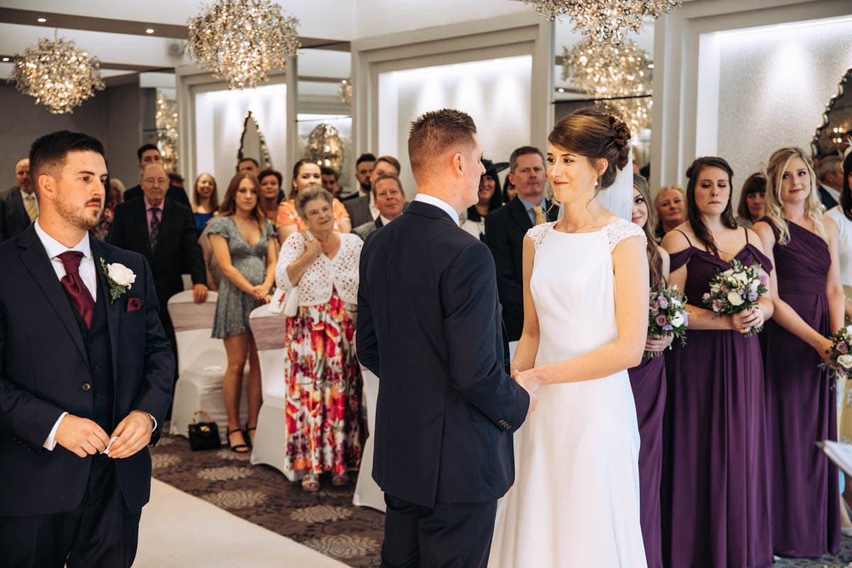 getting married at thornton hall hotel