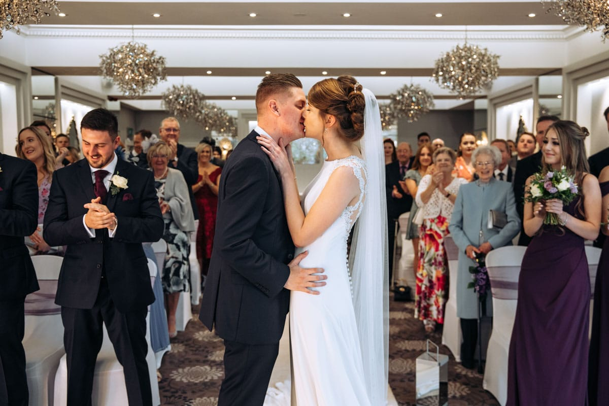 first kiss at the thornton hall hotel