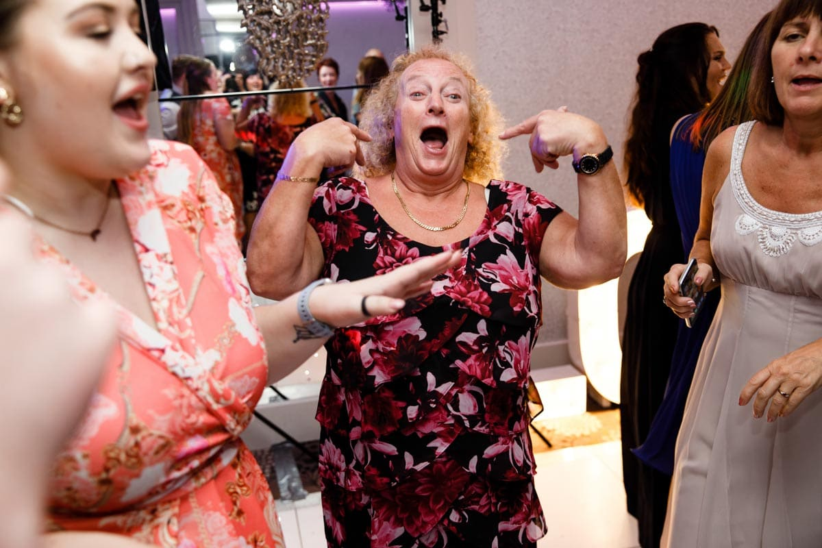 guests having a good time at thornton hall hotel