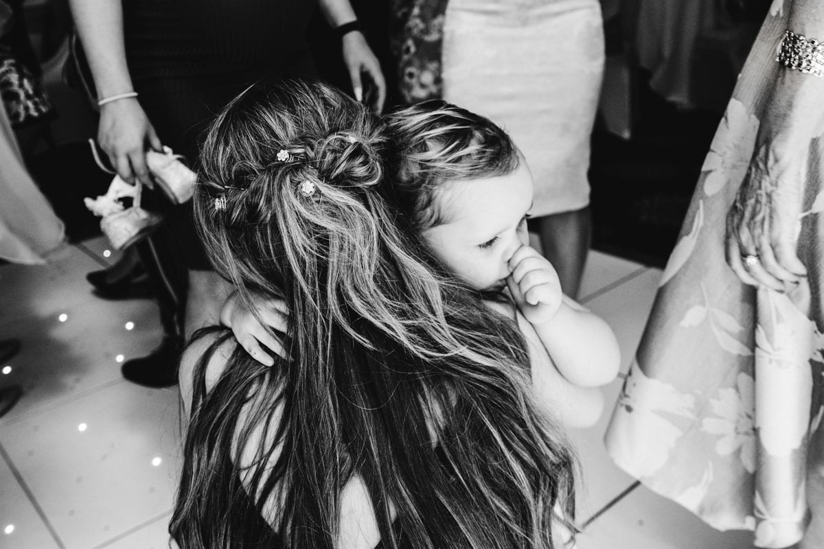 kids on the dancefloor at a wedding