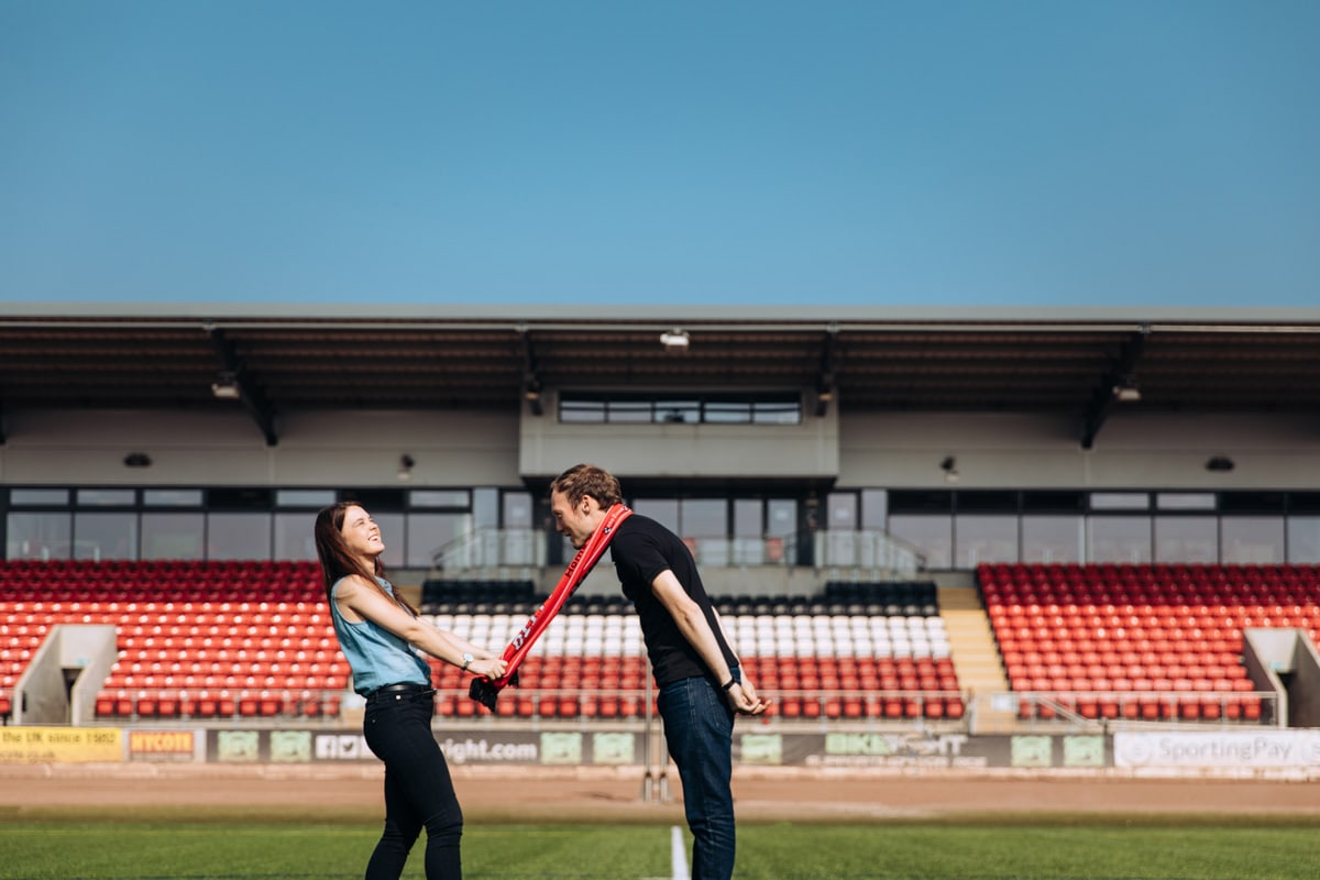 Engagement Photography at Speedway Manchester