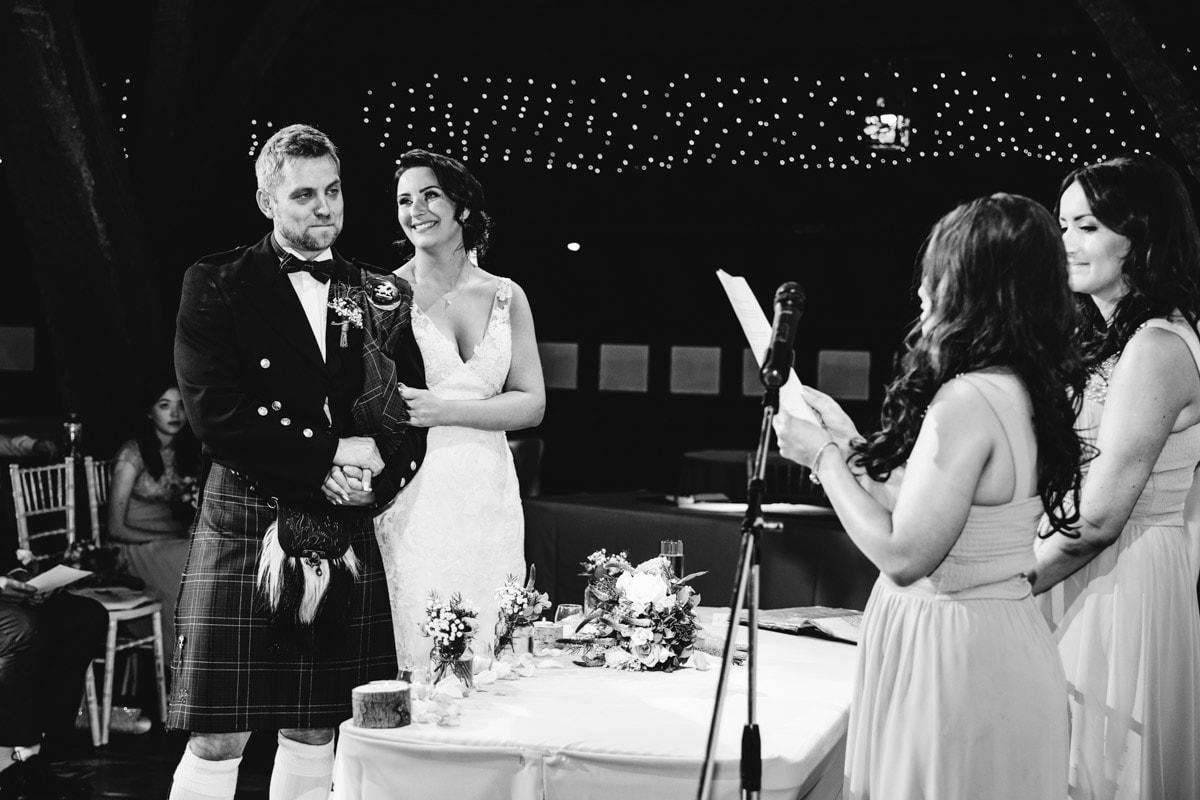 rivington barn wedding ceremony