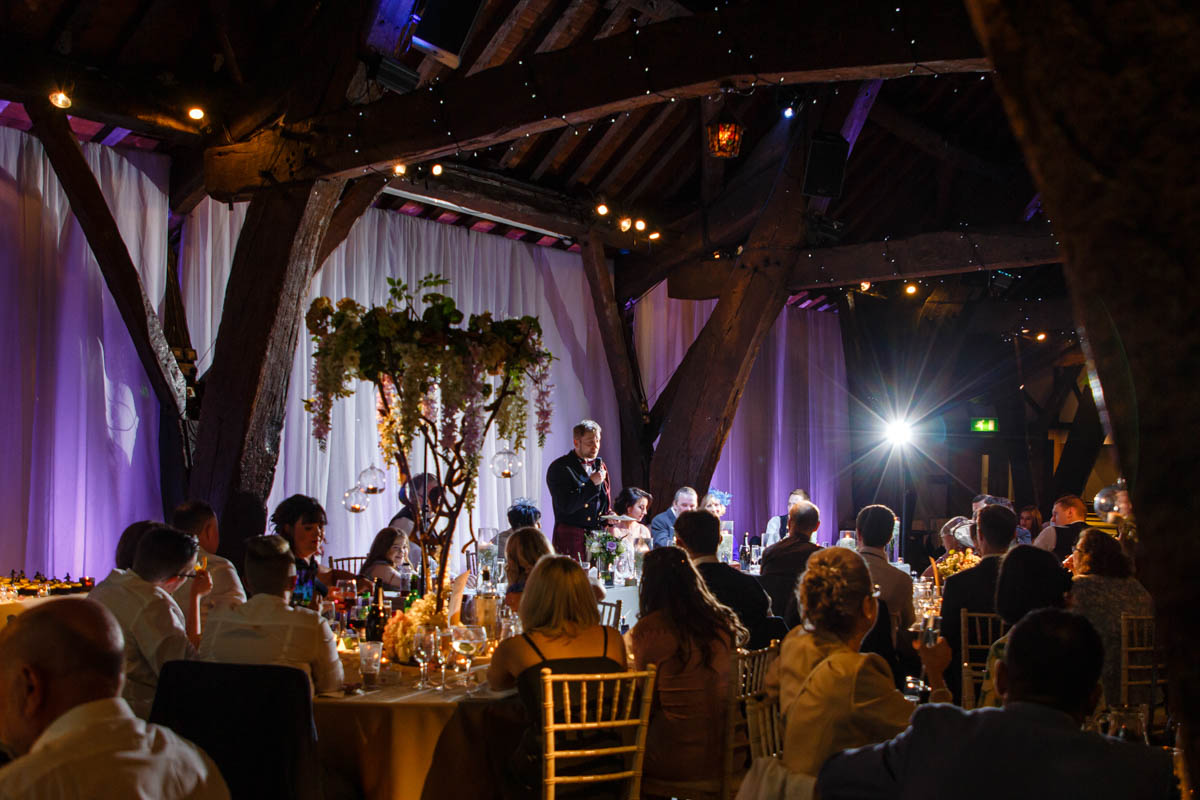 rivington barn wedding speech